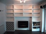 floating wine shelves
